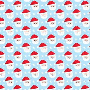 Santa Claus Faces