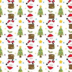 Santa Claus Down the Chimney