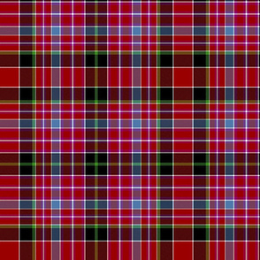 "Aberdeen tartan, 12"", by Wilson's of Bannockburn"