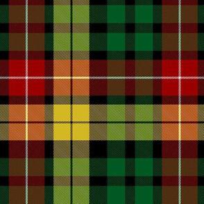 """Buchanan tartan - black stripe 6"""""""