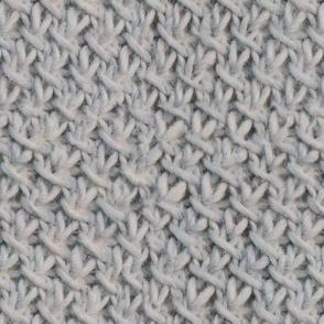 Cozy Diagonal Knit Stitch