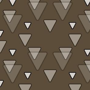 Geometric Triangles in Brown