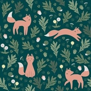 Fox Forest and Dandelions