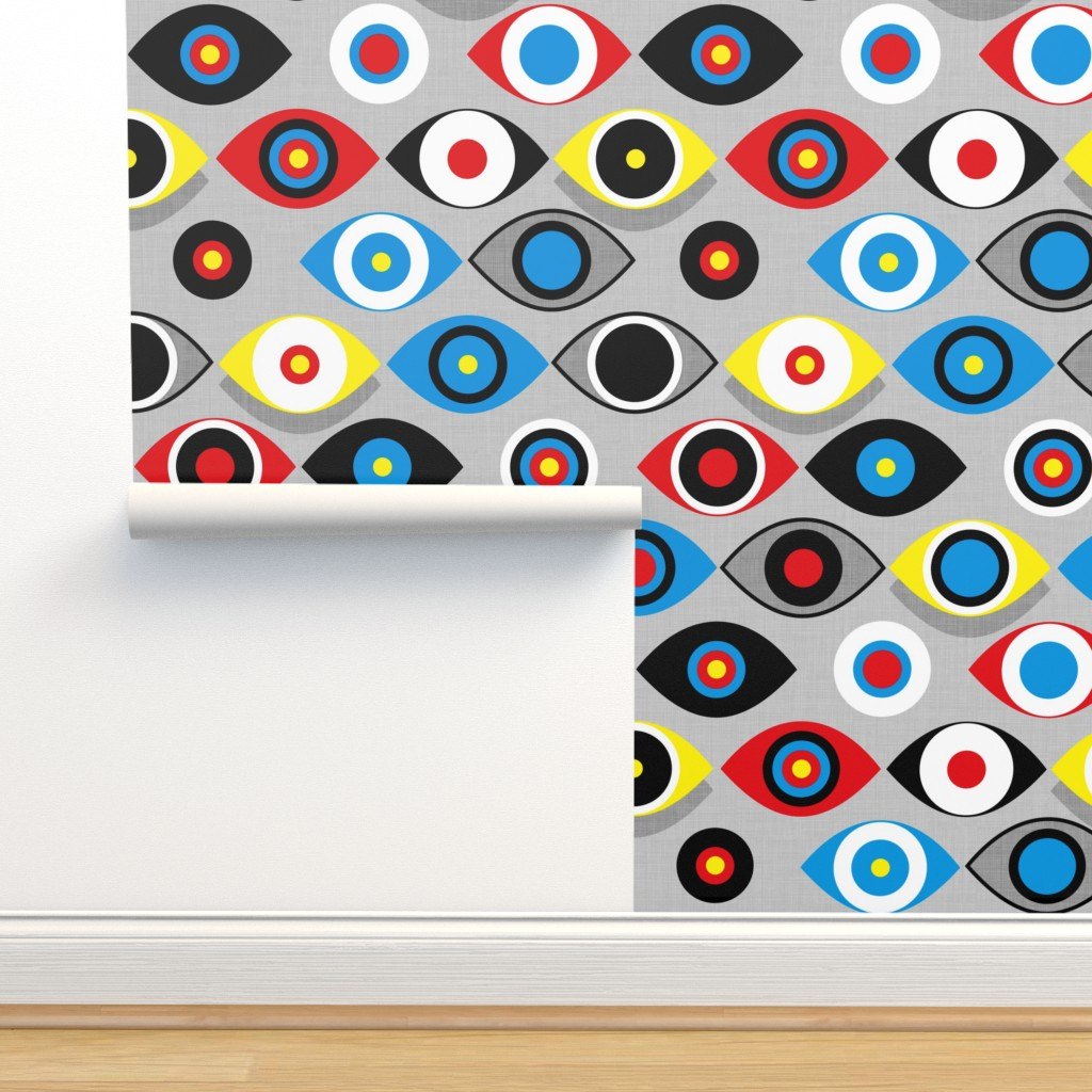 Isobar Durable Wallpaper featuring Eye on the Target by spellstone