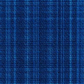 Tweed plaid dark blue