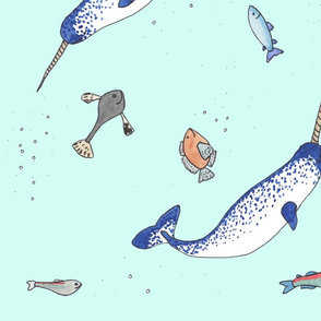 narwhal fabric