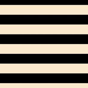 stripes LG black and ivory