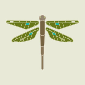 Dragonfly panel large
