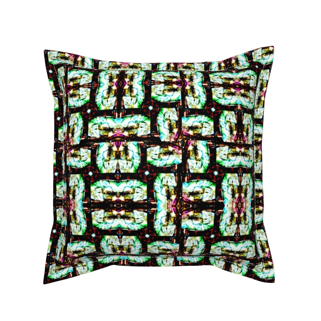 Serama Throw Pillow featuring The Looking Glass by bejilledbyjillimac_designs