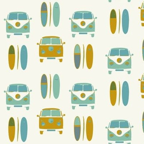 camper van and surf (small scale)