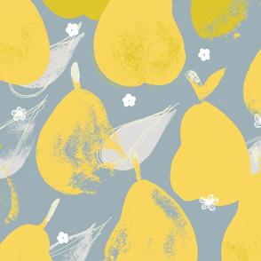 Pear Pick M+M Smoke+Yolk by Friztin