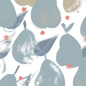 Pear Pick M+M Slate+Latte by Friztin
