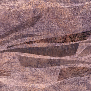 rock abstract blush umber