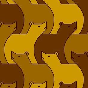 07024749 : 3 brown bears