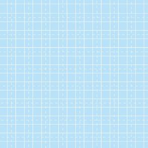 grid world map -light blue
