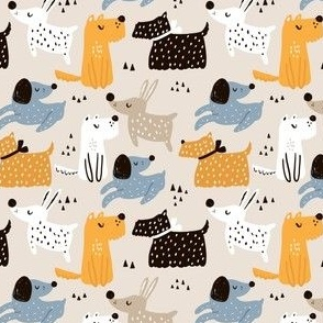 yellow_funky_dogs