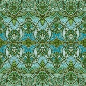 Victorian Gothic (green/blue)