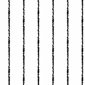 Black Scribble Stripes