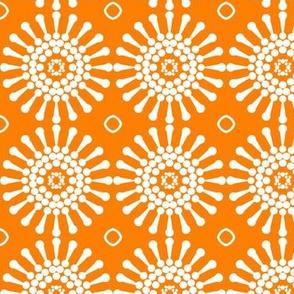 Geo Dandelion Orange