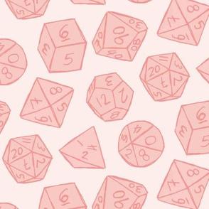 Gaming Dice - Pink