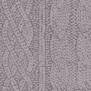 Hygge Winter Knit in Mauve