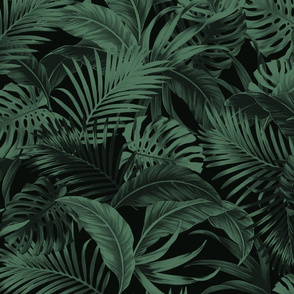 Jungle Palm - Greens