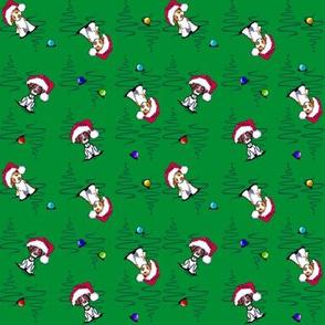 KiniArt Christmas Britts Small Print