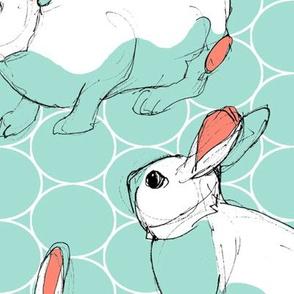 Jumbo Sketchy Bunnies