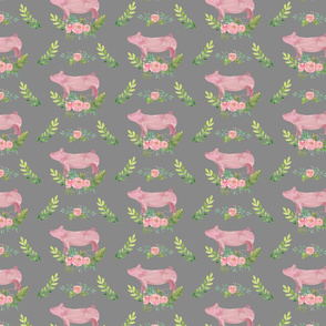Showstock & Roses - Pigs *NEW SMALLER REPEAT-ed