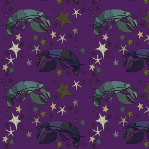 Lobster 2 purple