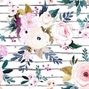 Harper Floral Stripe