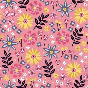 Garden Joy (Light Pink)