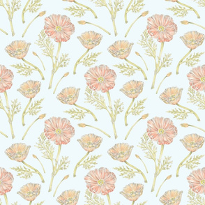 California Poppy Pattern
