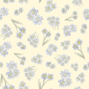 forget me not pattern