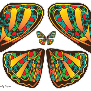 Butterfly Cape (Full Yard)