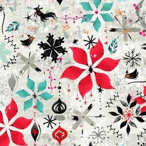 Snowflake Creature Toss