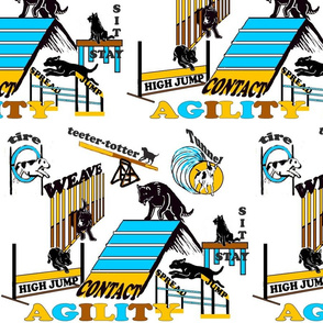 Agilty fabric two and agility wallpaper