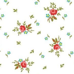 vintage floral sprig