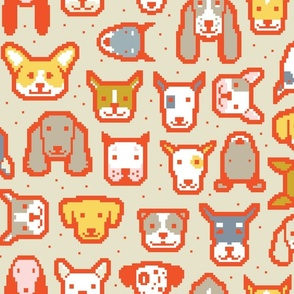 Pixel Puppers W by Friztin