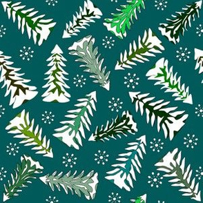 Winter Seasonal  Fabric