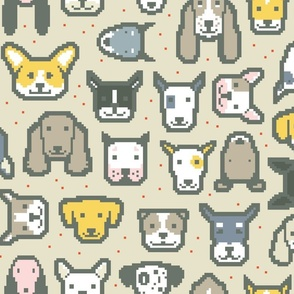 Pixel Puppers C by Friztin