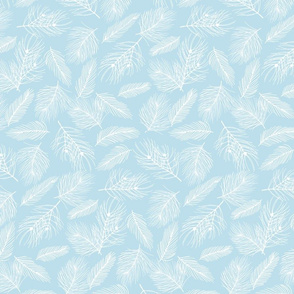 Pine-Pattern-Outlnes-White-Frost Blue