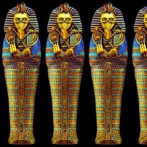 5 ancient egypt egyptian king tut Tutankhamun pharaoh gold mummy death masks cobra snakes crown vulture serpent coffin skulls skeletons shepherd's Crook flail Nekhbet Wadjet Uraeus funerary funeral hieroglyphs