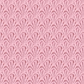 Pink Shell Seashell Glitter /Pink Mini