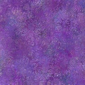 Watercolor Splatter Purple
