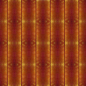 Geo Stripe Brown & Gold