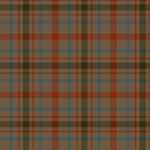 "MacDonagh tartan - 7"" weathered"