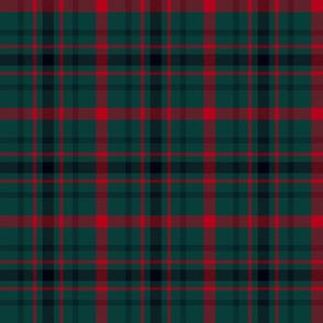 """MacDonagh tartan - 6"""" muted"""