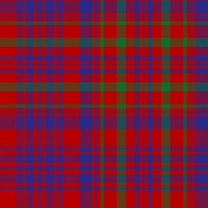 "Campbell of Loudoun plaid from portrait, 12"" modern"