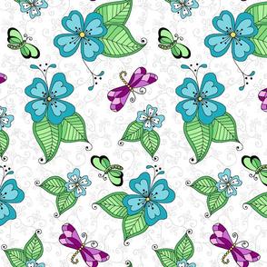 Dragonfly White